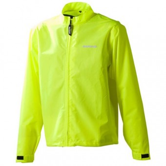 Rain Jackets & Coats Bering Over Jacket Yellow Fluo