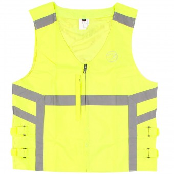 Motorcycle Vests Bering Gilet H.V Yellow Fluo