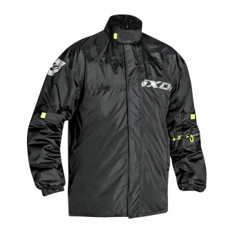 Rain Jackets & Coats Ixon Madden Black Neon Yellow
