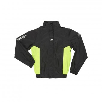 Rain Jackets & Coats Furygan Neptun Veste Black Yellow Fluo