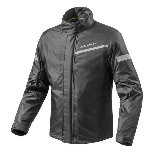 Rain Jackets & Coats REV'IT Cyclone 2 H2O Black