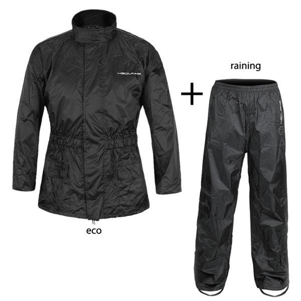 Motorcycle Rain Suit 4SQUARE 2 piece Waterproof Rain Suit Eco
