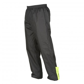 Rain Pants Furygan Raint Pant Black Yellow Fluo