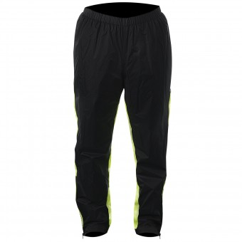 Rain Pants Alpinestars Hurricane Rain Pant Black Yellow Fluoro
