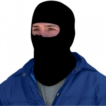 Motorcycle Balaclavas Zanheadgear Microfleece Balaclava With Zipper