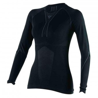 Base Layer Shirts Dainese D-Core Thermo Tee LS Lady Black Anthracite