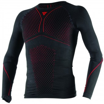 Base Layer Shirts Dainese D-Core Thermo Tee LS Black