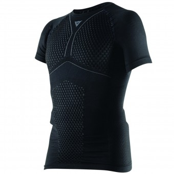 Base Layer Shirts Dainese D-Core Thermo Tee SS Black Anthracite
