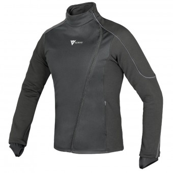Base Layer Shirts Dainese D-Mantle Fleece WS Black