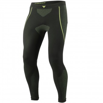Base Layer Trousers Dainese D-Core Dry Pant LL Black Neon Yellow
