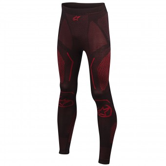Base Layer Trousers Alpinestars Ride Tech Bottom Winter Black Red