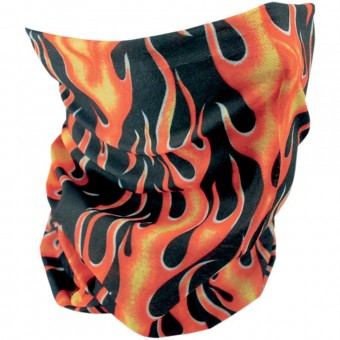 Motorcycle Neck Warmers Zanheadgear Classic Flames