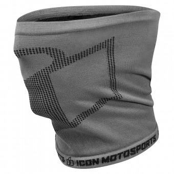 Motorcycle Neck Warmers ICON Performance Neck Tube Charcoal