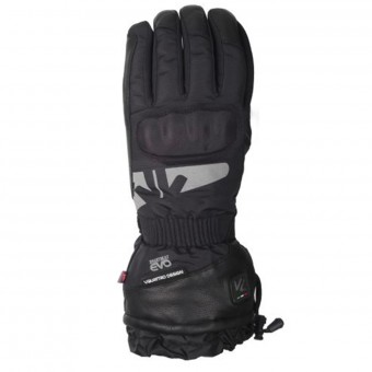 Motorcycle Gloves V'Quattro Alpha Black Heated