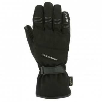 Motorcycle Gloves V'Quattro Arlen Gore-Tex Black