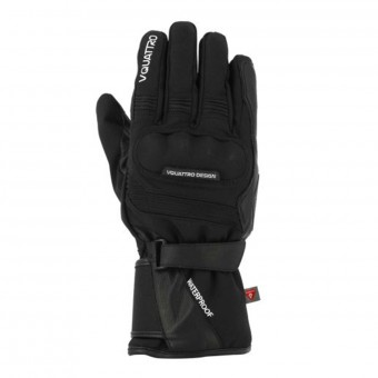 Motorcycle Gloves V'Quattro Carter 17 Black
