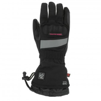 Motorcycle Gloves V'Quattro Clara Heated Black