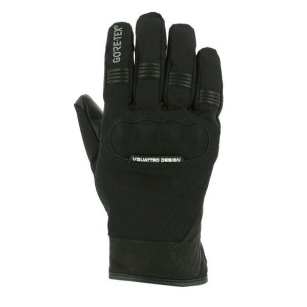 Motorcycle Gloves V'Quattro Commuter 17 2.1 Gore-Tex Black