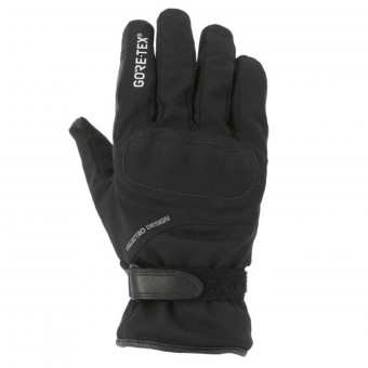 Motorcycle Gloves V'Quattro Enzo 17 Gore-Tex Black