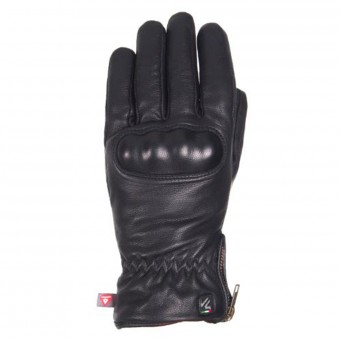 Motorcycle Gloves V'Quattro Eton Black