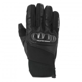 Motorcycle Gloves V'Quattro GP18 Black