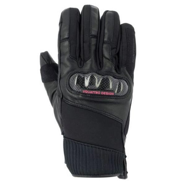 Motorcycle Gloves V'Quattro GP18 Lady Black