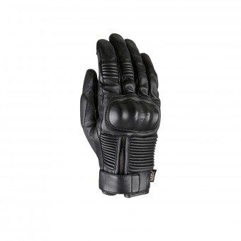Motorcycle Gloves Furygan James D3O All Season Black