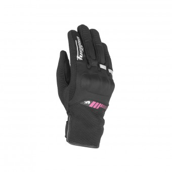 Motorcycle Gloves Furygan Jet All Season Kid Black Pink