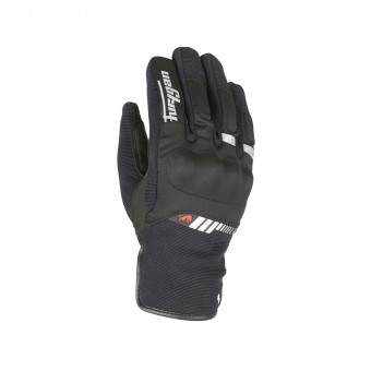 Motorcycle Gloves Furygan Jet All Season Kid Black White