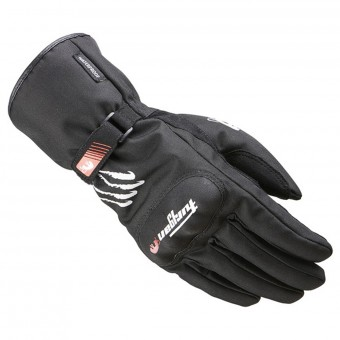 Motorcycle Gloves Furygan Keen Black White