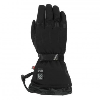 Motorcycle Gloves V'Quattro Metropolis Heated Black
