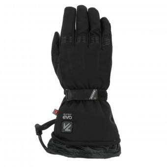 Motorcycle Gloves V'Quattro Metropolis Lady Heated Black