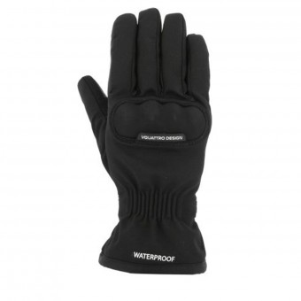 Motorcycle Gloves V'Quattro Mild 17 Black