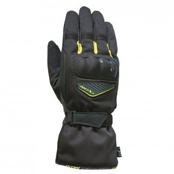 Motorcycle Gloves Ixon Pro Arrow Black Yellow Fluo