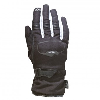 Motorcycle Gloves Ixon Pro Rush Kid Black White