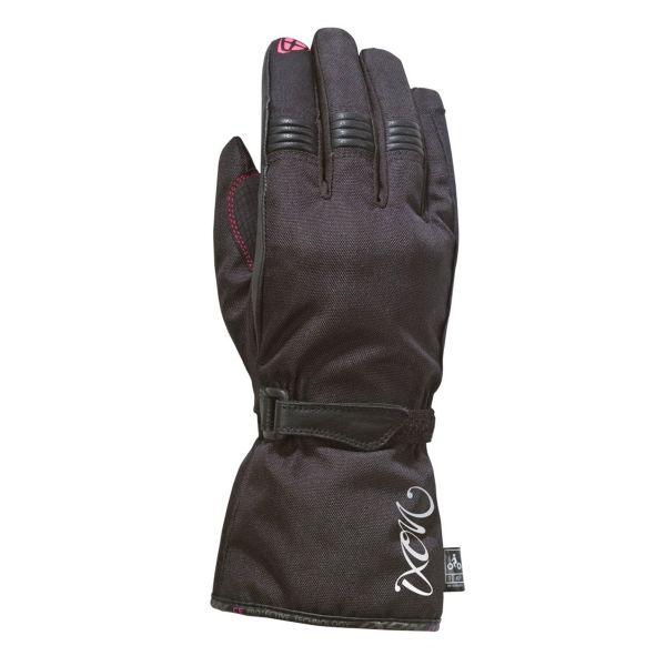 Motorcycle Gloves Ixon Pro Rush Lady Black Fuschia