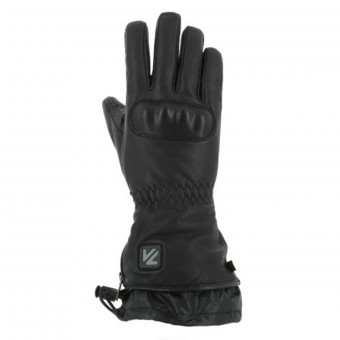 Motorcycle Gloves V'Quattro Virago Heated Black