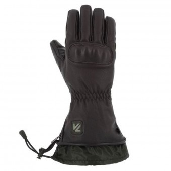 Motorcycle Gloves V'Quattro Virago Heated Brown