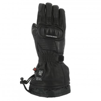 Motorcycle Gloves V'Quattro Vulcan 17 Heated Black