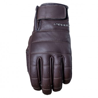 Motorcycle Gloves Five California Brown