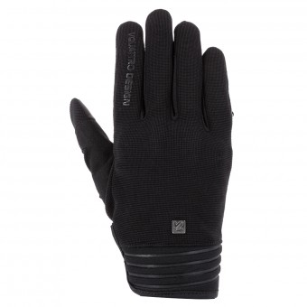 Motorcycle Gloves V'Quattro District 18 Black