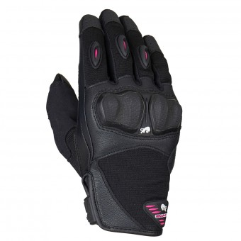 Motorcycle Gloves Furygan Graphic Evo 2 Lady Black