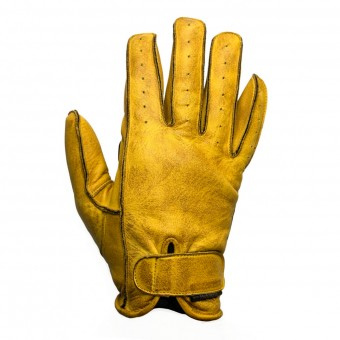 Motorcycle Gloves Helstons Hiro Black Gold