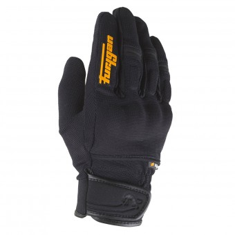 Motorcycle Gloves Furygan Jet Evo II Black Orange