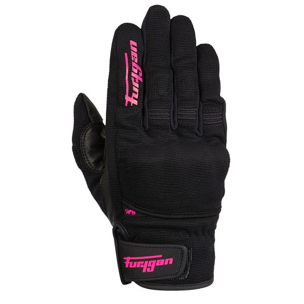 Motorcycle Gloves Furygan Jet Lady D3O Black Pink