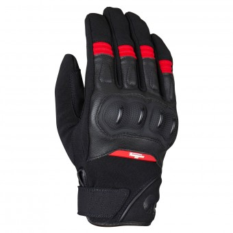 Motorcycle Gloves Furygan Low Black Red