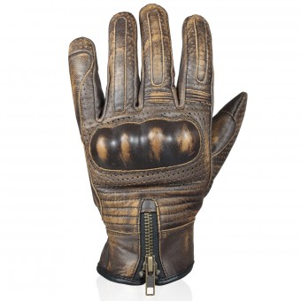 Motorcycle Gloves Darts Max Brown
