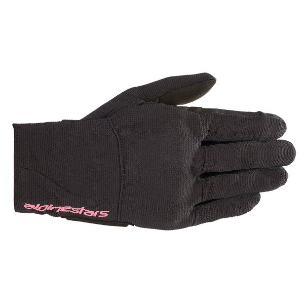 Motorcycle Gloves Alpinestars Reef Woman Black Fuchsia