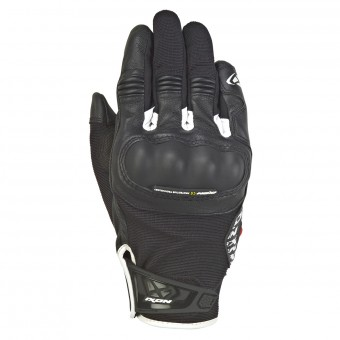 Motorcycle Gloves Ixon RS Grip 2 Black White
