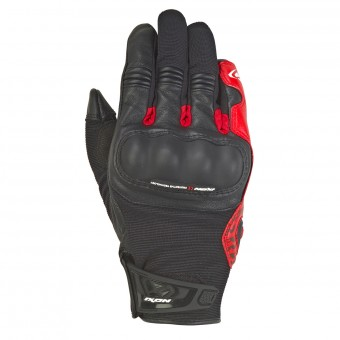 Motorcycle Gloves Ixon RS Grip 2 Black Red